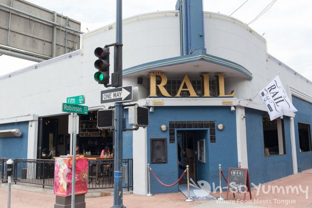 The Rail restaurant and nightclub in Hillcrest San Diego
