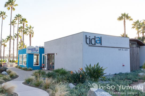 Tidal restaurant in Mission Bay of San Diego