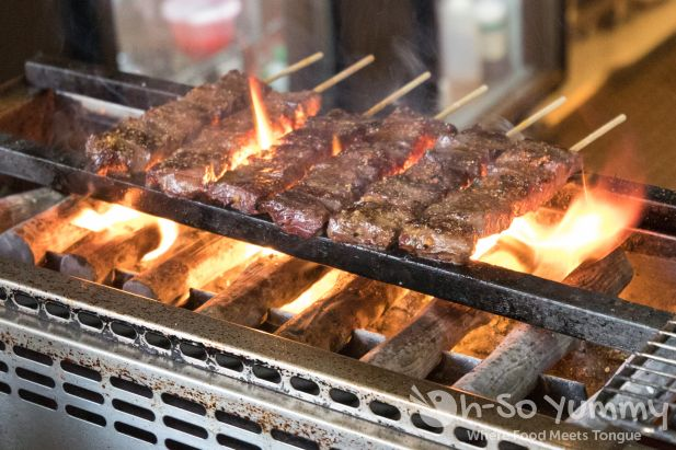 skirt steak at Wokou Ramen and Yakitori at The Village in Pacific Highlands Ranch