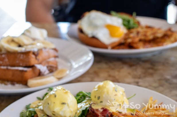 Brunch at Shorehouse Kitchens in La Jolla