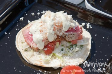 Larry Malone of Empirehouse Urban Palate - fish taco
