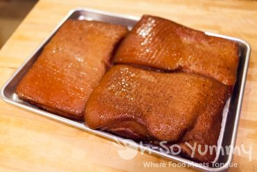 Smoked Pork Belly Top Side