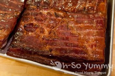 Smoked Pork Belly Bottom Side