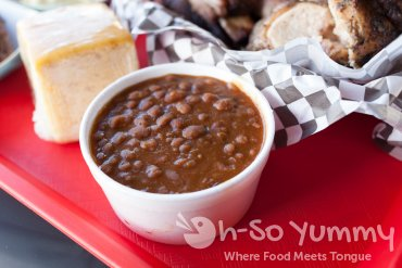 BBQ Beans at Sque BBQ