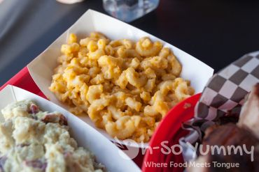 Mac and Cheese at Sque BBQ