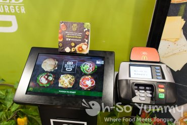 McDonald's Build Your Own Burger Kiosk