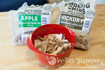 Apple and Hickory Smoke Chips