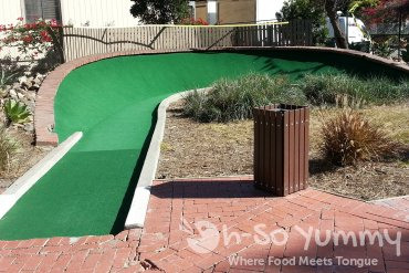 mini golf in Avalon on Catalina Island