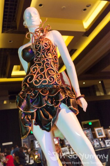 xena dress at the 10th Annual Chocolate Decadence at Pechanga Resort and Casino in Temecula