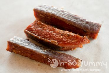Indian candy smoked salmon at Fishmongers Market