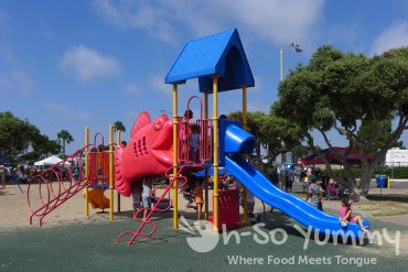 playground at Harborfest in Chula Vista