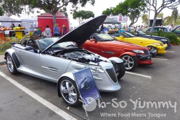 classic cars at Harborfest in Chula Vista