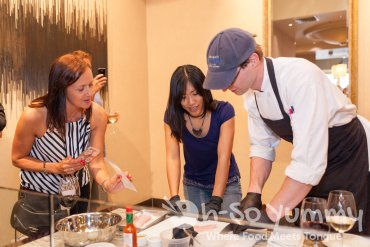 cooking class with chefs at Humphreys