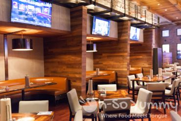 indoor seating at Kelsey's Bar and Grill at Pechanga