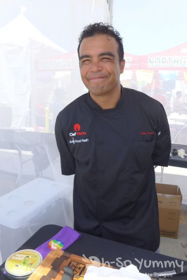 Chef Jose Yanez at Latin Food Fest San Diego