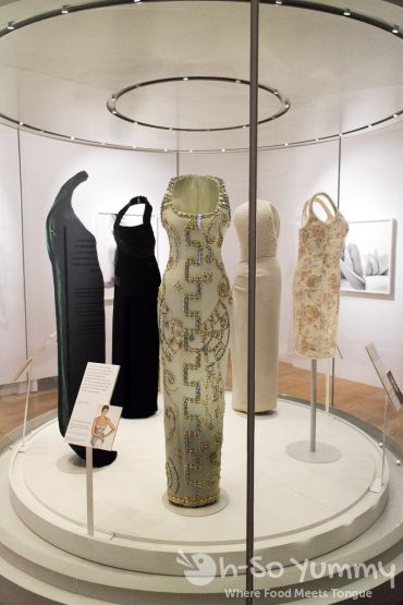 Princess Diana dress collection at Kensington Palace in London UK