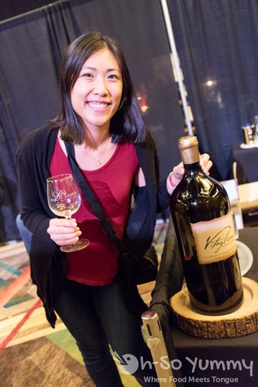 The biggest bottle of wine at the 10th annual wine festival at pechanga