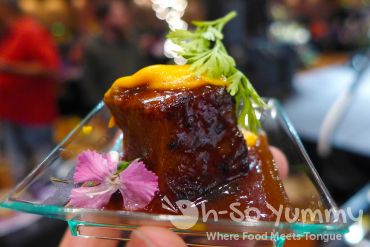 braised pork from journeys end at Pechanga Wine Festival