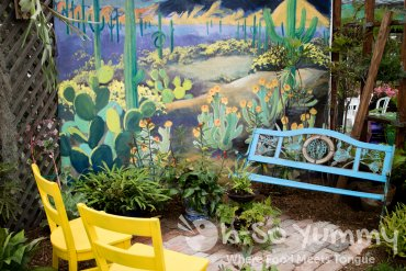 bold garden seating at San Diego Fair 2017 Where the West is Fun