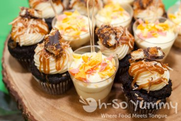 cupcakes from Rustic Root