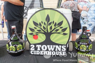 2 Towns Ciderhouse at Tacos and Tequila Festival