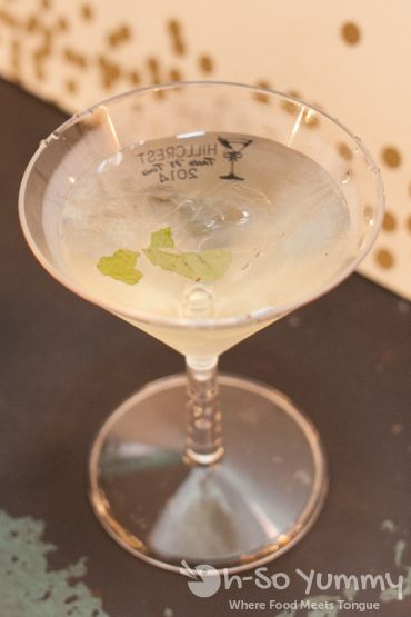 Hillcrest Taste N Tinis 2014 - the grinch (tequila martini)
