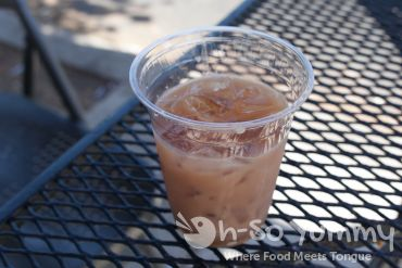 Taste of North Park 2014 - iced coconut chai at Subterranean Coffee Boutique