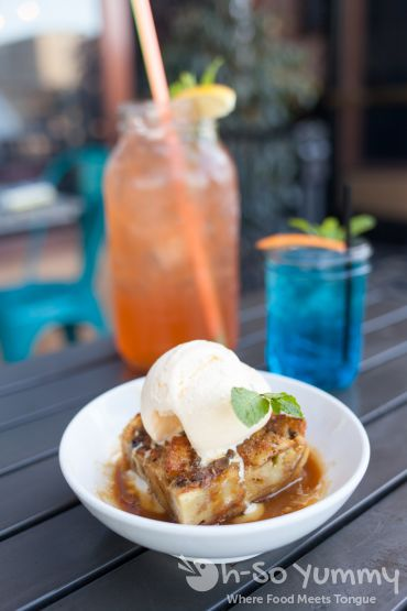 Bread Pudding and Big Ass Brunch Drinks at West Coast Tavern in San Diego, CA