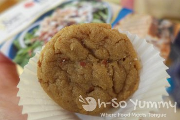 Sunny Side Kitchen peanut butter cookie