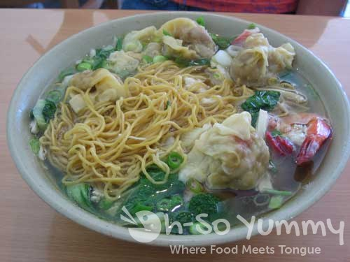 Minh Ky Mi Gia Combination Wonton Egg Noodles Soup