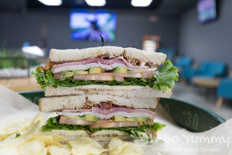 Cali Sandwich Stacked at 102 Hub in Mira Mesa