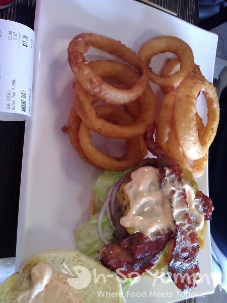 Anny's Fine Burger - Bacon Cheese Burger