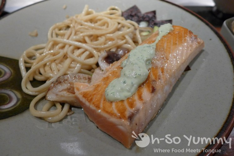 Benihana - Hibachi Salmon with Avocado Tartar Sauce