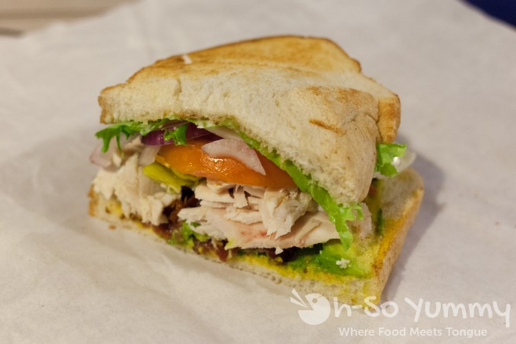 Cine Cafe - Chicken Club Sandwich