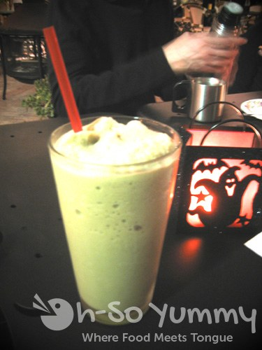 Blended Green Tea Latte