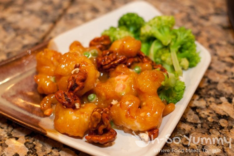 Del Mar Rendezvous Walnut Shrimp