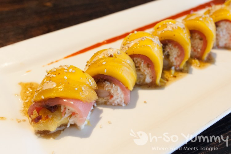 OMG with Mango at EON Sushi in Costa Mesa