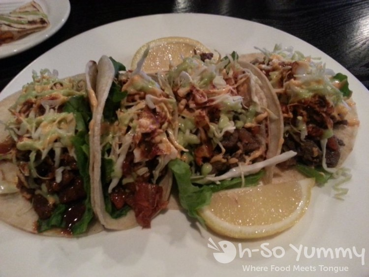 Fuze - Pork Tacos and Bulgogi Tacos