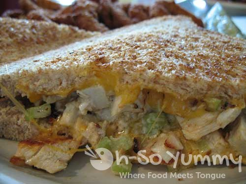 chicken sandwich melt