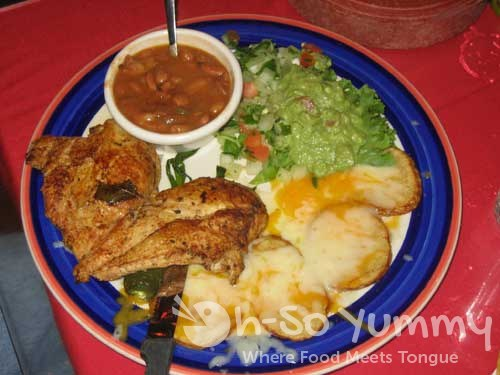 Mi Tierra Cafe Charbroiled Chicken Breast