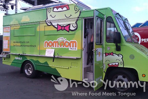 San Diego Food Truck Festival 2011 - NomNom sold out