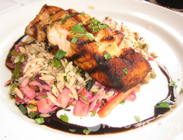 Sbicca Grilled Chili Lime Salmon