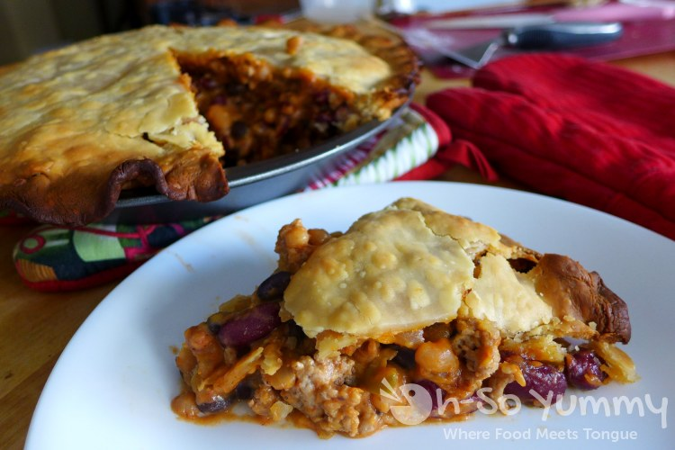 homemade bean pie