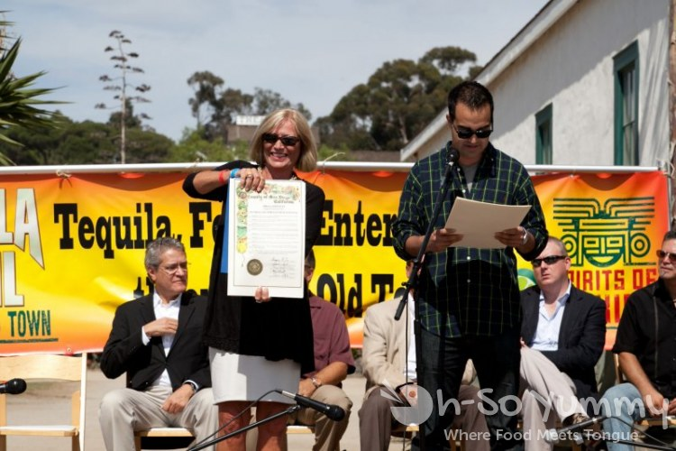 Spirits of Mexico Tequila Trail - San Diego Certificates