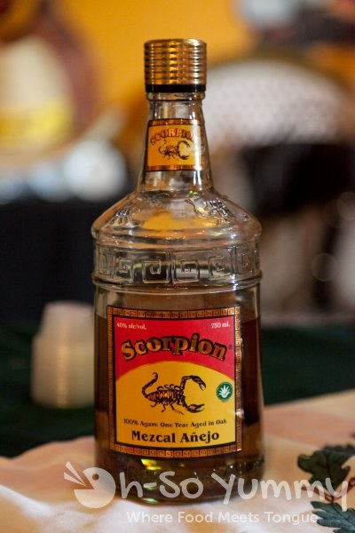 Spirits of Mexico Tequila Trail Scorpion bottle
