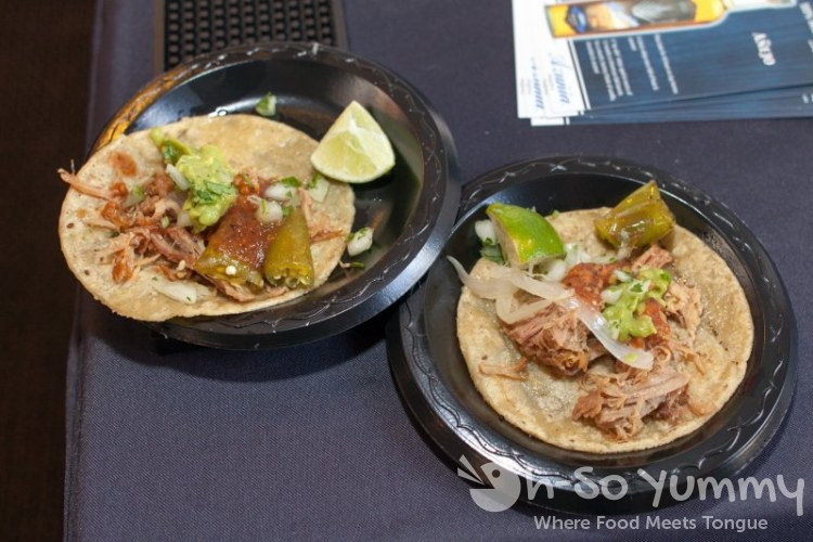 Tequila Trail 2013 - Old Town Mexican Cafe pork tacos