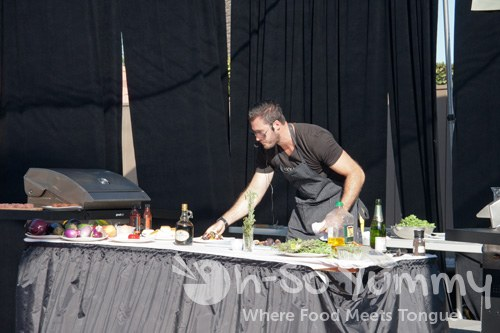 Hak Grill on stage at Gourmet Experience 2011