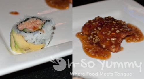 Taste of Downtown 2011 - Dragon's Den sushi and fish