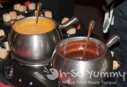 Taste of Downtown San Diego 2011 - Melting Pot fondue pots