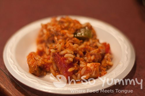 Taste of Downtown San Diego 2011 - Sixth Ave Bistro jambalaya